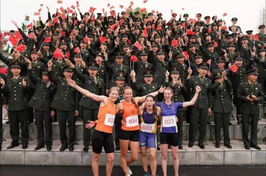 外媒眼中的武汉军运会:共享友谊,同筑和平