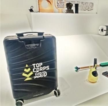 武漢雙年展上設計接地氣:自動跟隨行李箱