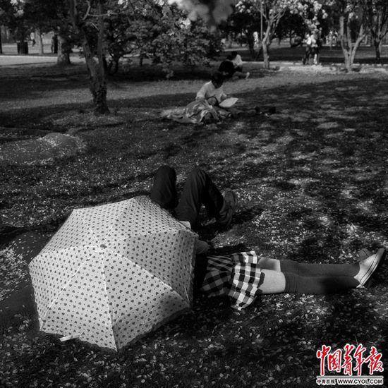 去公园散步是正经事? 公园承载了城市生活的北京助孕日常琐碎