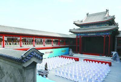 <b>广和楼复建后将首次亮相 曾是清代四大戏园之一</b>