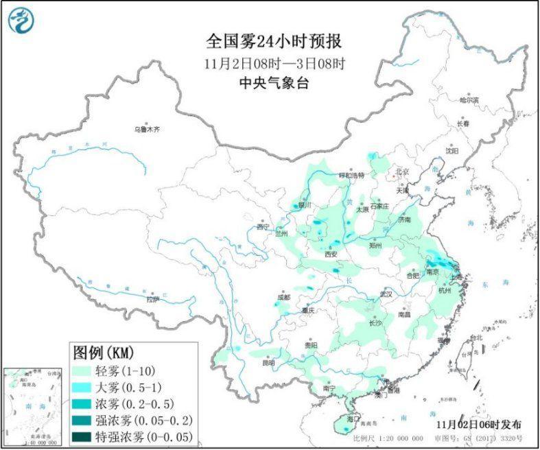 咋能赚钱呢:华北地区有阴雨天气 黄淮江淮大气扩散条件较差