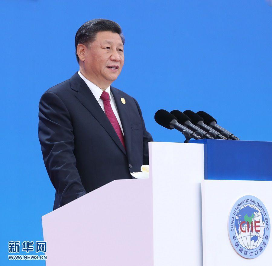 """新华网评:""""进博时刻""""呈现更加开放的中国"""
