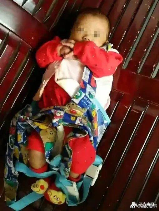 湖南耒阳一女婴被毒虫且不近装蛇皮袋扔水沟 警方介入调查