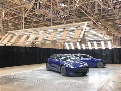 特斯拉上海超级工厂面世 国产Model3最早年底交付