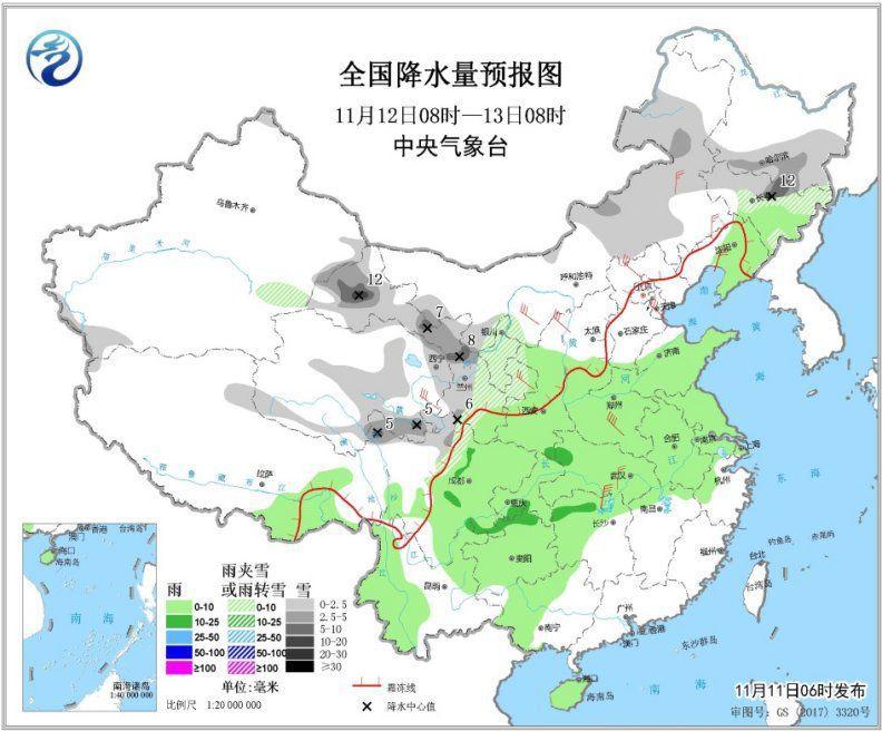 强冷空气将影响中国大部地区 东北等地局部降温超12℃