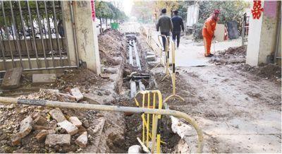 一次小区改造 道路开挖三次(曝光)