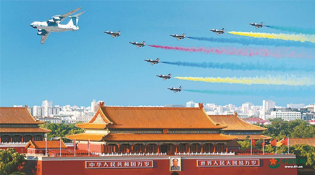 人民空军70年,强军思想指引新航程