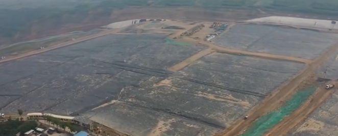 国内最大垃圾填埋场提前20年饱和 将建生态公园