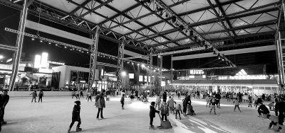 火锅店冬夜排队等位,深夜读书热度不减...夜经济正在越来越火