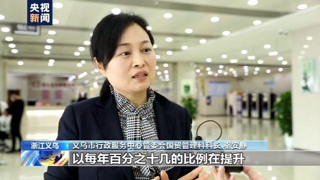 总值2423.2亿元!浙江义乌前10月外贸进出口动力强劲