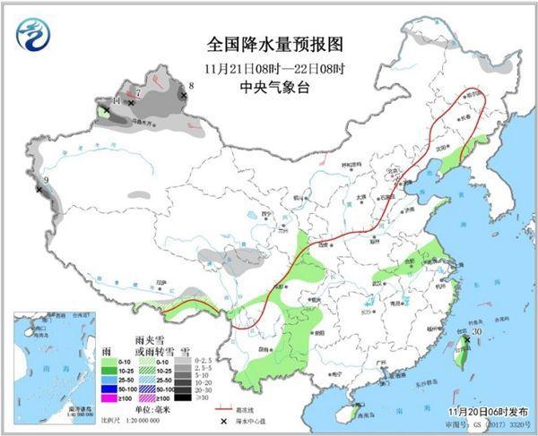 """中国大部进入回暖""""通道"""" 华北黄淮雾霾渐起"""