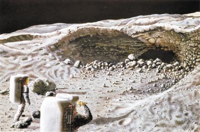 重返月球步伐受阻 小小月尘或是原因
