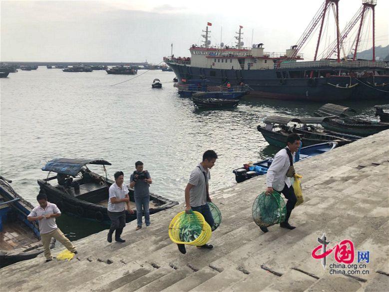 广西北海:南澫中心渔港水体治理显成效