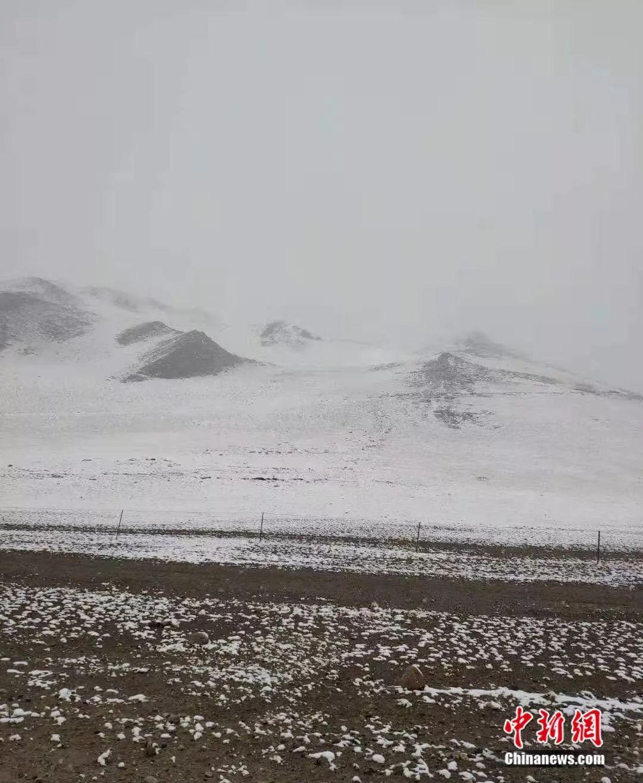 茫茫雪山。受访者供图