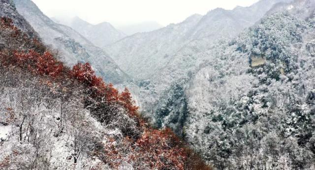 这是初冬的神州,这是如画的中国!