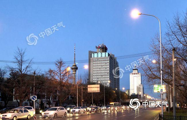 """今明两天北京保持""""晴冷""""范 周五或迎今冬初雪"""