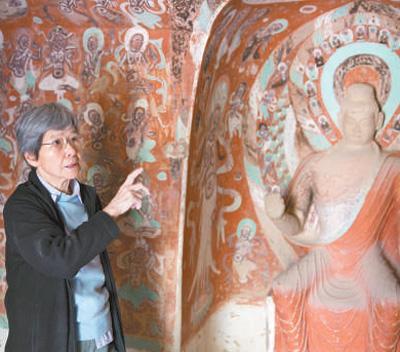 """只要莫高窟存在 就要把它陪好 """"文物保护杰出贡献者""""樊锦诗"""
