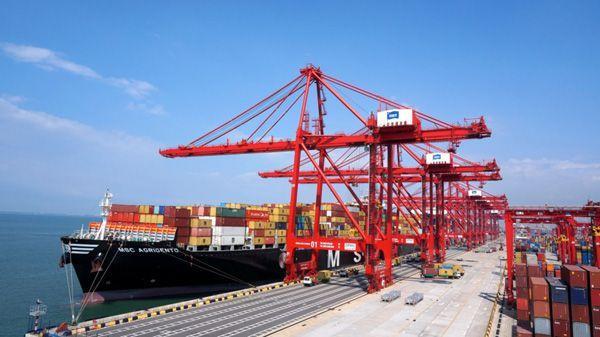 """中国已成为""""一带一路""""25个沿线国家最大贸易伙伴"""