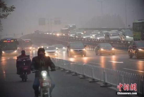 数十城空气重度污染 气象部门:冷风已在路上