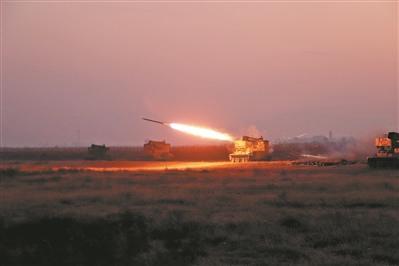 第八十二集团军某旅组织年度实弹射击考核