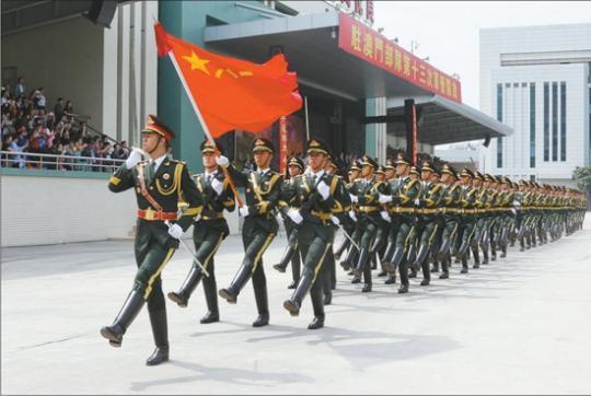 中国人民解放军进驻澳门20周年纪实
