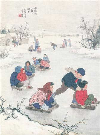 作家笔下的雪