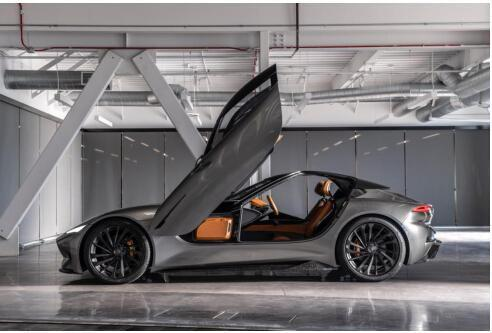 技术领航创新 Karma汽车发布全新概念车型SC2