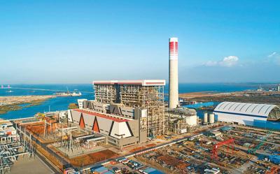 中企在海外投建的最大燃煤电厂投产