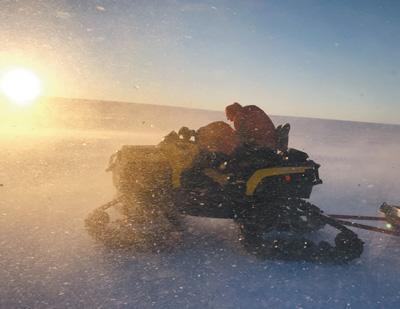 为了梦想攀登新的人生高度 极地科考绽放别样青春