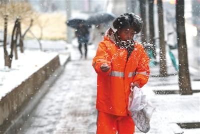 雪后迎大风 本周后期北京最高气温降至冰点