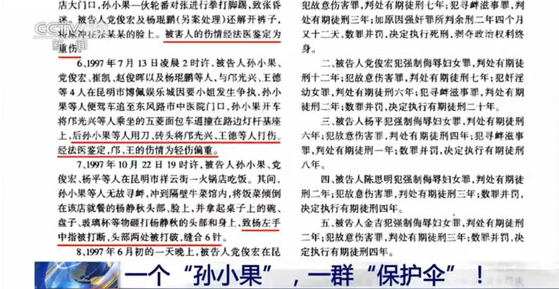 """新闻1+1丨一个""""孙小果"""",一群""""保护伞""""!"""