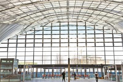 北京地铁环球度假区站月底启用 或成北京最大客流地铁站