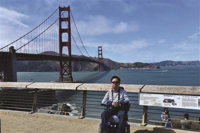 """""""脑瘫博士""""研发无障碍地图 愿让残障人士生活得更好"""