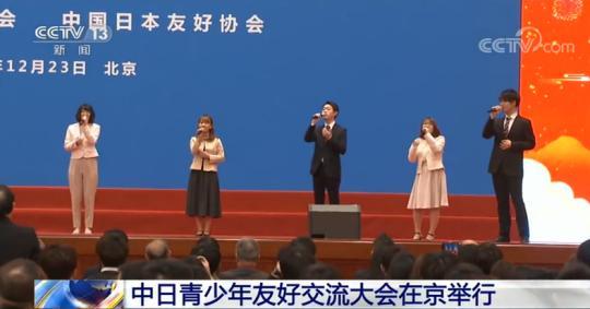 中日青少年友好交流大会在京举行