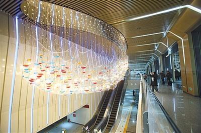 北京地铁7号线东延年底试运营 环球度假区站暂不开通