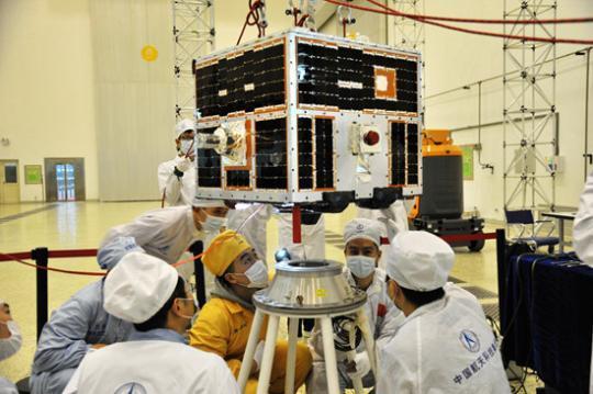 """""""天琴一号""""发射 到天上探测引力波长征才迈第一步?"""