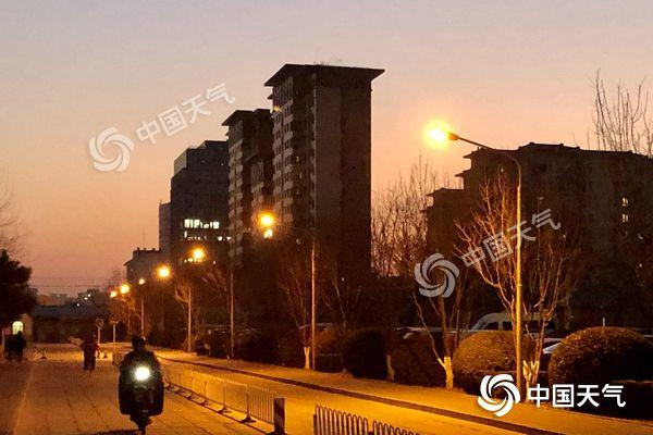 北京未来三天连续升温 周日或再迎降雪