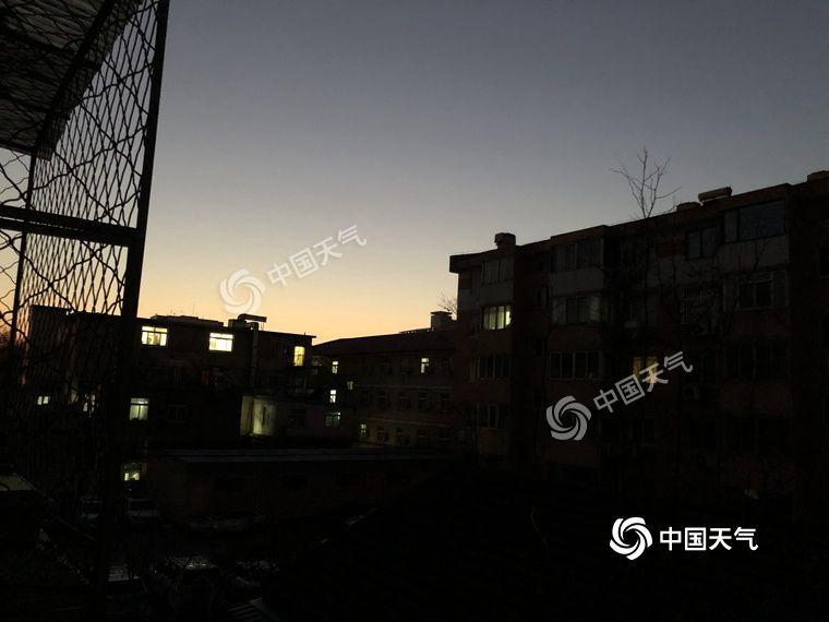 北京今日光照较好宜外出