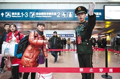 春运期间北京地铁9号线运行间隔缩短至2分钟
