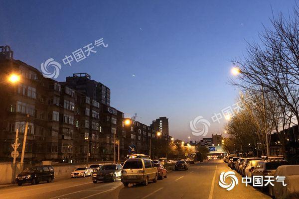 北京今日维持晴冷模式 明天山区或有小雪