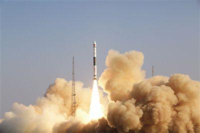 恭喜!中國快舟一號甲運載火箭成功發射銀河航天首發星