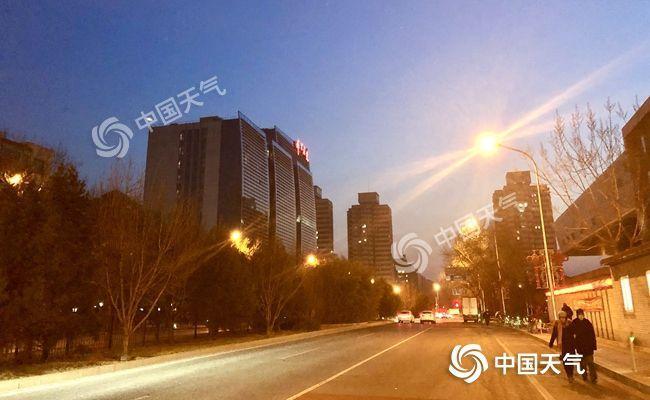 北京寒冷中迎小年山區有零星小雪 明起氣溫回升