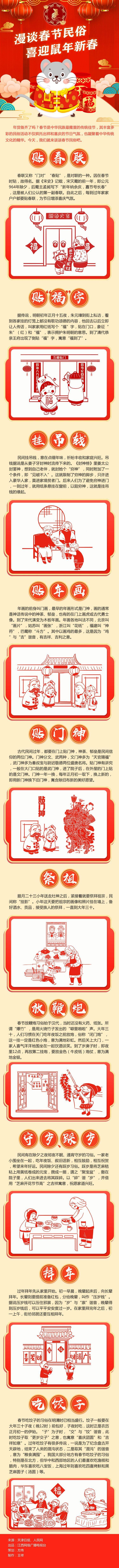 漫谈春节民俗 喜迎鼠年新春