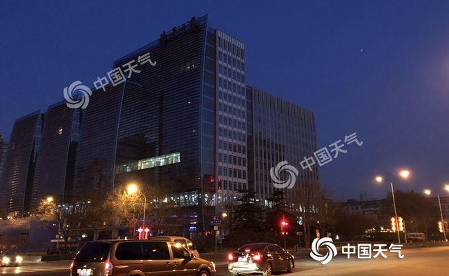 冷空气来袭北京今天阵风6级 除夕降温明显降幅达5℃