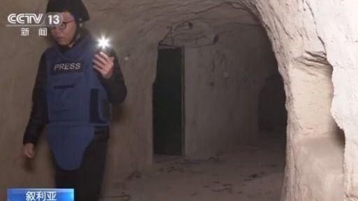 隐身山石中生活设施完备 探访叙利亚反政府武装地道系统
