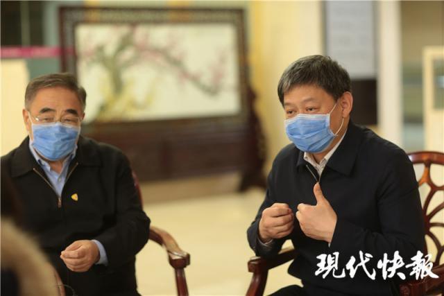 △张伯礼(左)和刘清泉(右)