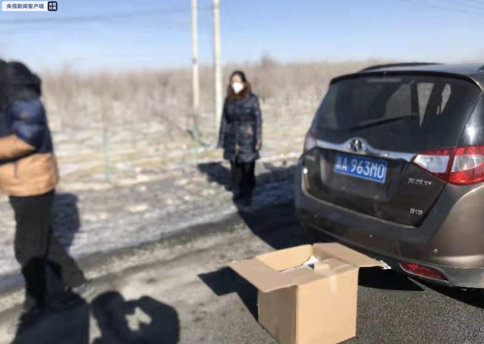 新疆交警查獲一起倒賣假冒偽劣防護物資案件