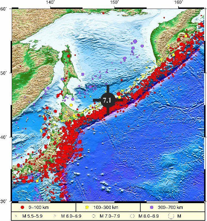 自然资源部判断千岛群岛海域地震不会引发海啸