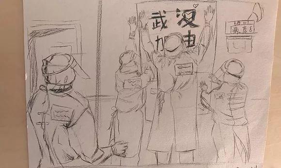 简笔画 手绘 素描 线稿 580_346