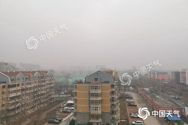 今晨北京有雾能见度较低 白天阵风达7级风寒效应明显
